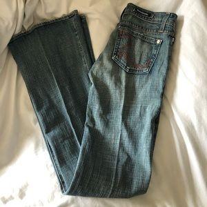 Vintage rock & republic flared jeans